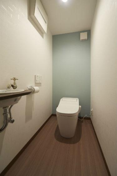 アクセント トイレ 壁紙